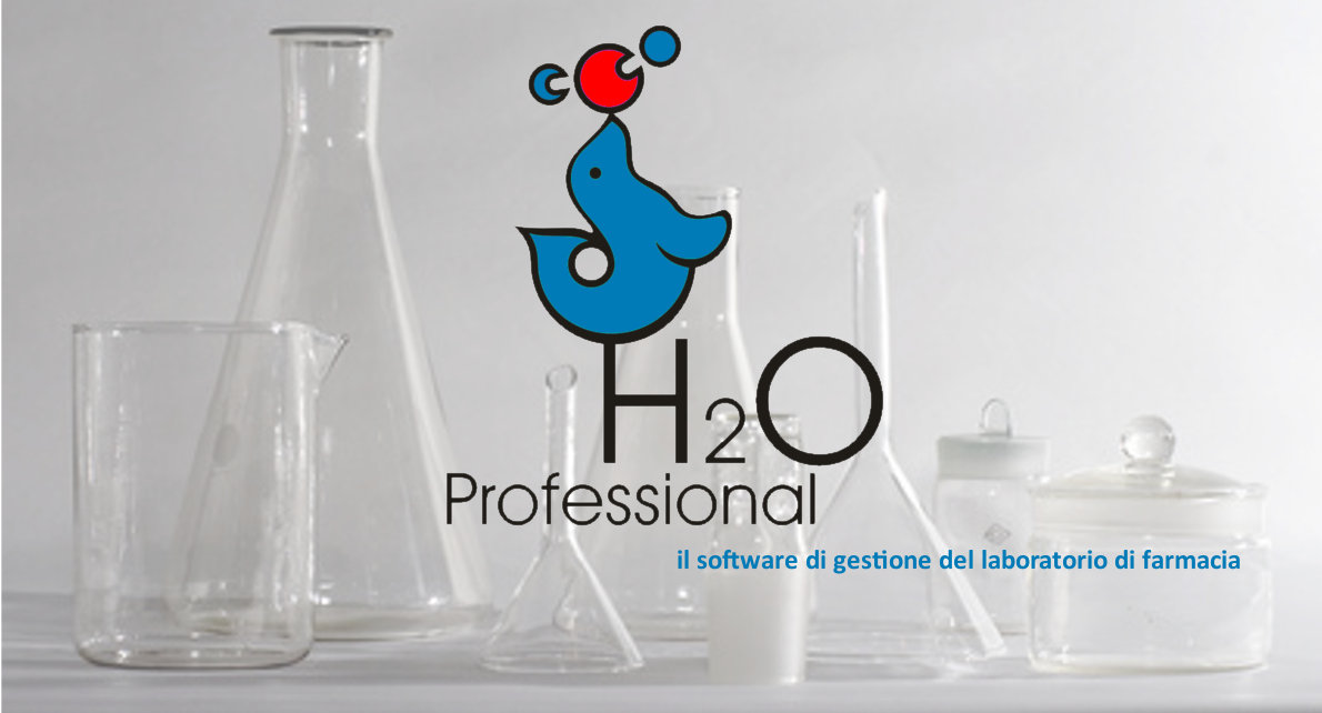 H2O Professional - Software di gestione del laboratorio di farmacia